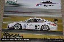 2013 Brumos Racing Porsche 911 GT3 Cup Rolex 24 Grand Am postcard