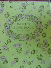 FAMILY SONG BOOK- READER'S DIGEST 1969  HC  252 PAGES