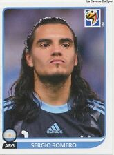 N°108 SERGIO ROMERO # ARGENTINA STICKER PANINI WORLD CUP SOUTH AFRICA 2010