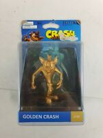 Golden Crash - Crash Bandicoot - Totaku - No. 29 - Foam Figure - New - Free P&P