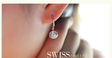 Zirconia Dangle Earring One Pair Beautiful New! 100% 925 Sterling Sliver Cubic