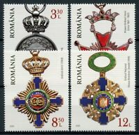 Romania Military Stamps 2020 MNH Romanian Orders & Medals 4v Set