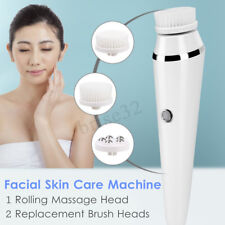 3in1 Facial Skin Pore Care Machine USB Rechargeable Electric Cleansing Brush Set
