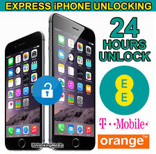 Factory Unlocking Service For iPhone 6  & 6 Plus - UK EE Orange Tmobile -24 Hrs