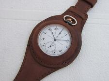 ULYSSE NARDIN CHRONOGRAPH Luftwaffe Ace Pilots WWII Vintage Swiss Watch SERVICED
