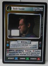 Star Trek TNG CCG Promo Card Bashir Founder