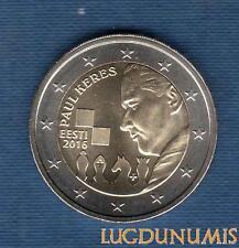 2 Euro Commémo – Estonie 2016 Paul Keres – Esti