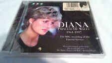 Diane Princess of Wales AudioCD BBC recording of Funeral Service 1997/New Sealed