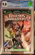 Dark Nights Death Metal Legends Knights #1 CGC 9.8 Cover A 1st App Robin King