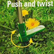 More details for steel weed puller twister claw weed remover weeding root killer garden hand tool