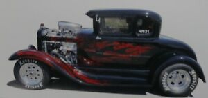 Decals - 1931 Ford Coupe Hotrod by RatRodRalphy
