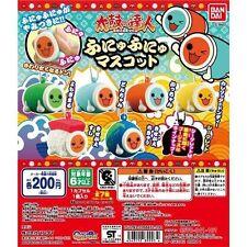 Taiko No Tatsujin Taiko Drum Master Earth Sashimi Sushi Gashapon Set of 7 last