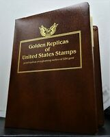 Golden Replicas Of United States Stamps 75ct. 22kt 1994-96 Assorted  RG236