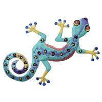"Gecko Applique Patch - Lizard, Reptile Badge 3.5"" (Iron on)"