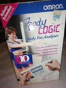 Omron Body Logic HBF-301 Body Fat Analyzer Display % & Lbs.