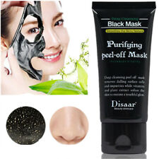Face Mask Nose Blackhead Acne Pore Deep Remover Cleansing Strip Black Mud