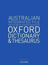 Australian Integrated School File Oxford Dictionary & Thesaurus