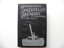 Livre militaire en allemand Taschenbuch der PANZER 1976