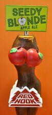 HOT Red Hook Brewery Seedy Blonde Apple Ale BEER TAP HANDLE -- Brand NEW