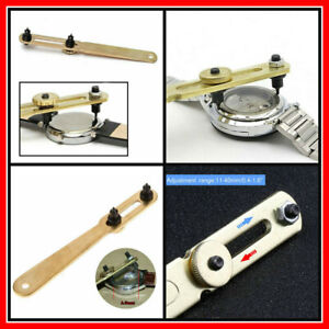 Adjustable Watch Back Opener Tool Case Removal Wrench Watchmaker Battery Repair