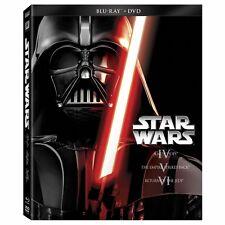 Star Wars Trilogy Episodes IV V VI 4 5 6(Blu-ray/DVD 2013 6-Disc Set) NEW