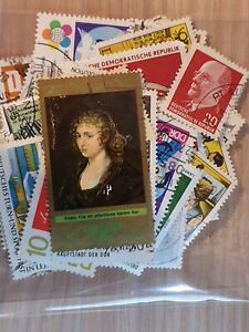 Germany DDR  - Mixed Years  - 50  Used Stamps all different