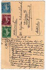 LAS Octave Uzanne bibliophile homme de lettres à Eugène Schwiedland 1926 Vienne