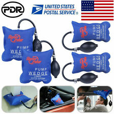 4× PDR Tools Automotive Air Pump Wedge Hand Inflatable Hand Tool For Door Window