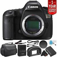 Canon EOS 5DS Digital SLR Camera 0581C002 (Body Only)- Starter Bundle (Intl Mode