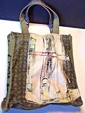 Andy Warhol Tote Loop NYC design Roll of Bills 1962 art design #2
