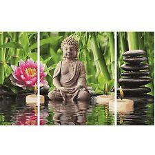 SPA Zeit für Dich! Malen nach Zahlen Schipper Triptychon Blüten 50x80 cm Welness