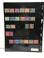 Netherlands Stamp Lot (33) Vintage Used Postage Stamps.