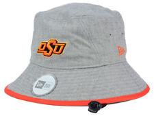 Oklahoma State Cowboys NCAA Heather Tipped Bucket Sun Beach Hat Cap Medium