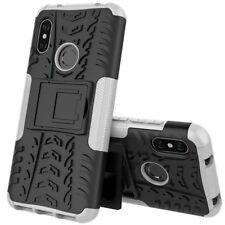 For Xiaomi Mi A2 /Mi 6X Hybrid Case 2 Pieces Outdoor White Case Cover New