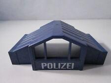 "PLAYMOBIL- ""DIFICIL TEJADO AZUL POLICIA COMISARIA ANTIGUA"" - LUJO!"