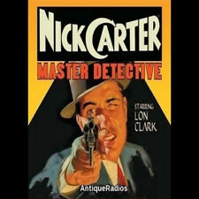 NICK CARTER (139 SHOWS) OLD TIME RADIO MP3 on DVD
