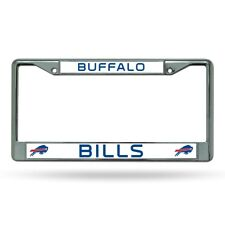 Buffalo Bills NFL Chrome Metal License Plate Frame