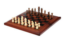 3 In 1 CHESS Checkers & Backgammon Deluxe Stanton Style Chess Pieces Game Sets