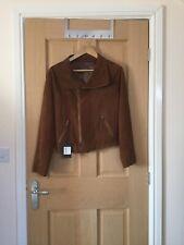 Really Wild Suede Biker Style Jacket Size 12 bnwt