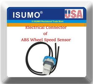 Connector of ABS Wheel Speed Sensor Front-Rear Fits:Deville DTS Eldorado Seville
