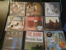 9x Rock CD's The Band Ronnie Wood plus Stones Bonus Rock-Sammlung