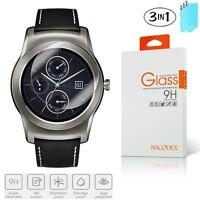 3x Nacodex Tempered Glass Screen Protector for LG G Watch R W100 / Urbane W150