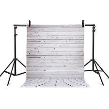 2,1 m x 1,5 m Fotostudio GRAU Hintergrund Chromakey Holzwand Vinyl DE★☆