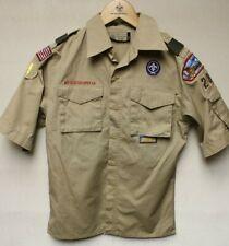 B6 BSA Scout Uniform Shirt, Youth Size Large, Great Condition Blue Ridge Council