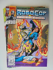 Robo Cop - The Future Of Law Enforcement Nr.19-23 US Marvel Comic Zustand 1/1-