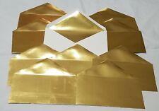 Crema Envolvente paquete de 50 Pulgadas Papermania 5 X 7 pulgadas en Blanco Tarjeta Y Sobres
