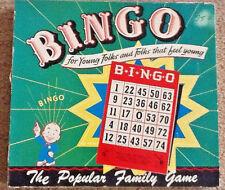 Vintage 1950's Finger-Tip Bingo Game by Regal Manufacturing Co.100% Complete Htf