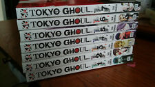 Very good condition Tokyo Ghoul Manga Volumes 1-7 in English