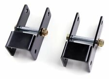 """Zone Offroad - 1"""" Front Shackle Lift - 99-04 Ford F250/F350 (F5101)"""