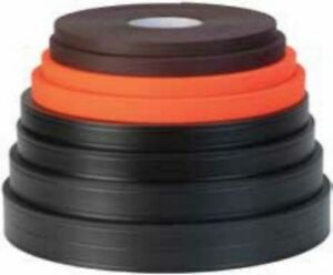 """100 ft roll Weaver Soft Grip 2"""" BLACK- stronger than """"thane"""" material made USA"""